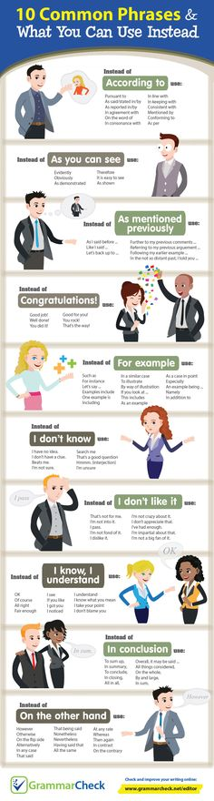 10 Common Phrases &